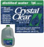 1-Gallon Distilled Crystal Clear Drinking Water