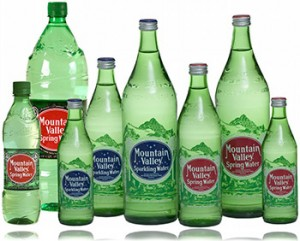 Mountain Valley Spring Water Bottles